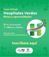Foro Virtual Hospitales Verdes, Retos y oportunidades