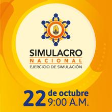 SIMULACRO NACIONAL EJERCICIO DE SIMULACION