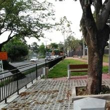 Entrega zona verde constructora Marval S.A.