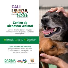 Socialización del Centro de Bienestar Animal