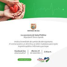 Rendición de Cuentas Secretaría de Salud Pública