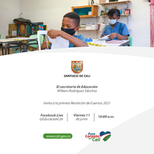 Primera Rendición de cuentas de la Secretaría de Educación 2021