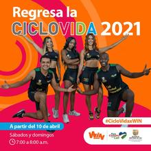Regresa la Ciclovida 2021 - por el canal WIN Sports