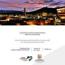 Primer rendición de cuentas de la Secretaría de Desarrollo Económico 2021