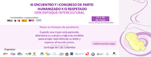 III Encuentro y I Congreso de Parto Humanizado y/o Respetado: nacer en tiempos de pandemia.