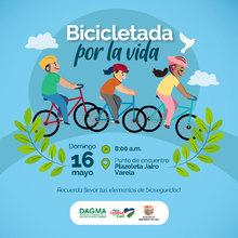 Bicicletada por la Vida