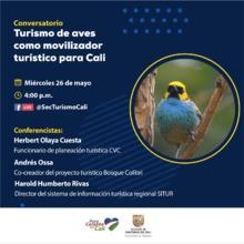 Conservatorio Turismo de aves como movilizador