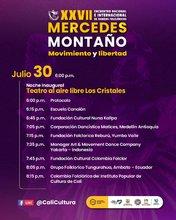 Gala Inaugural del XXVII Encuentro Nacional e Internacional de Danzas Folclóricas Mercedes Montaño