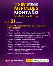 Segunda Gala XXVII Encuentro Nacional e Internacional de Danzas Folclóricas Mercedes Montaño