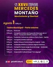 Gala de Cierre del XXVII Encuentro Nacional e Internacional de Danzas Folclóricas Mercedes Montaño