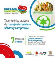 Taller Teórico Práctico de manejo de residuos Sólidos y compostaje