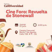 Cine Foro: Revuelta de Stonewall