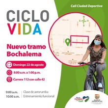 Nuevo Tramo de la Ciclovida - Bochalema