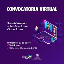 Convocatoria virtual