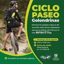 Ciclopaseo Golondrinas - Rutas D´Vida