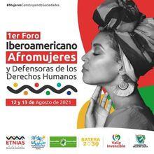 Foro Iberoamericano Afromujeres
