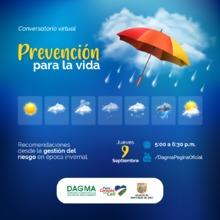 Conversatorio ambiental: Prevención para la vida