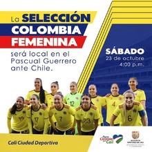 La selección Colombia femenina será local en el Pascual Guerrero