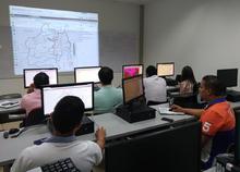 Asistentes a la jornada de socialización y capacitación IDESC del 2017-05-19
