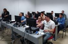 Asistentes a la jornada de socialización y capacitación IDESC del 2017-05-23