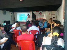 Asistentes al Meetup de Datos Abiertos y Gestión Información Geográfica