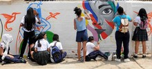 La Comuna 18 se llenó de color y amor por Cali