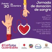 Este jueves, jornada de donación de sangre en Casa Matria