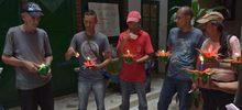 Habitantes de calle quemaron sus culpas
