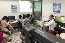 Capacitación en el manejo y procesamiento de datos obtenidos con equipos GNSS 2018-01-10