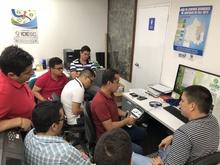 Capacitación en el manejo y procesamiento de datos obtenidos con equipos GNSS 2018-01-12