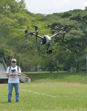 Capacitación y pruebas con la aeronaves (drones) del DAPM 2018-06-26/27