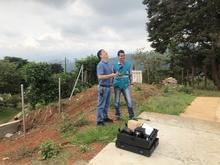 Fotografías de la práctica RPAS realizada en la cabecera del corregimiento La Paz.