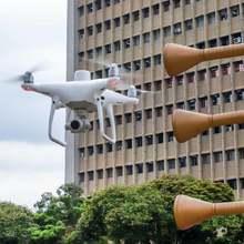 Drones para fortalecer operativos de Seguridad