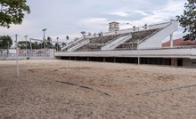 coliseo de voleibol playa