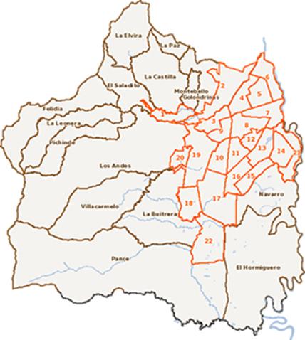 Acompañamiento a los procesos de ajuste cartográfico y revisión de límites territoriales