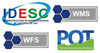 Habilitados servicios WMS y WFS con la información geográfica del POT 2014