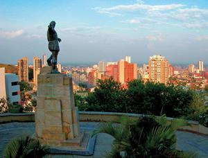 Mapa Tur?stico de Santiago de Cali