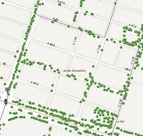Incorporación del Censo Arbóreo del Municipio