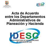 Acta de Compromiso IDESC