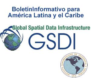 Boletín de Febrero sobre las IDE en América Latina y el Caribe