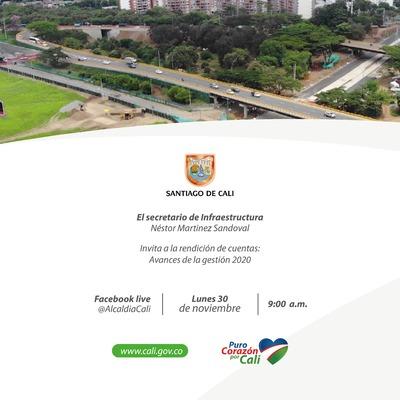 Segunda Rendición de Cuentas Secretaría de Infraestructura 2020
