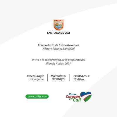 Invitación Socialización Plan de Acción 2021