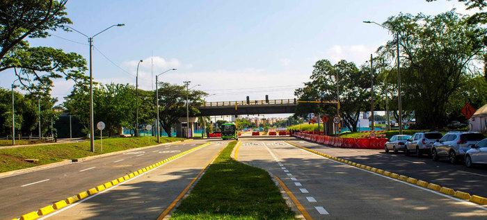 Habilitado el puente de la carrera 100 con calle 25, mejor movilidad