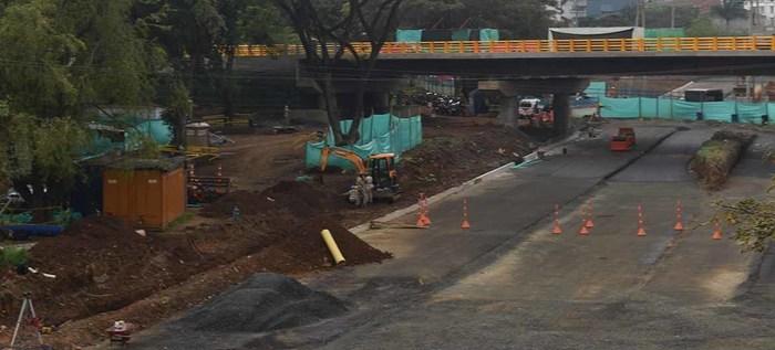 Ultiman detalles para inauguración del puente de la carrera 100 con calle 25