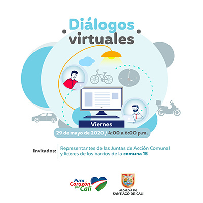 Diálogos Virtuales comuna 15