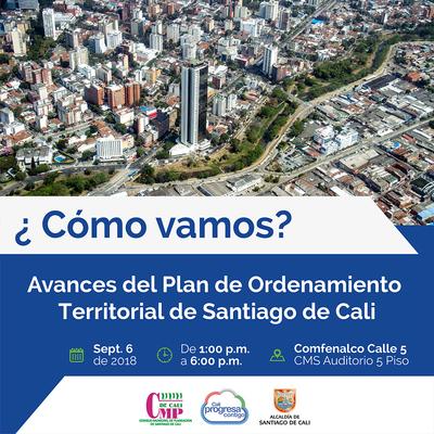 Foro sobre el POT convocado por el Consejo Municipal de Planeación