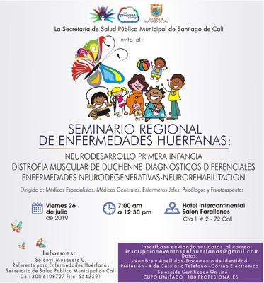 Seminario Regional de Enfermedades Huérfanas