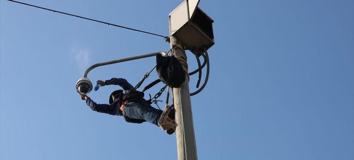 716 cámaras de seguridad ya funcionan perfectamente, Policía Metropolitana acompañó el proceso