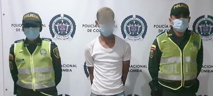 Motoladrón fue capturado y puesto a disposición de la justicia