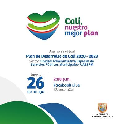 Asamblea Virtual Plan de Desarrollo.